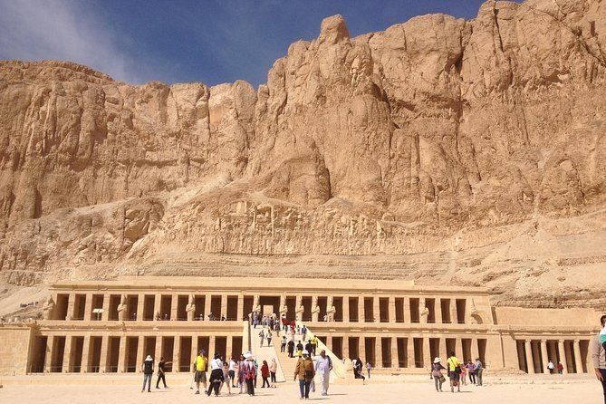 Day Tour from Airport to Luxor Monuments Include Lunch Transfers Entry Guide photo 1