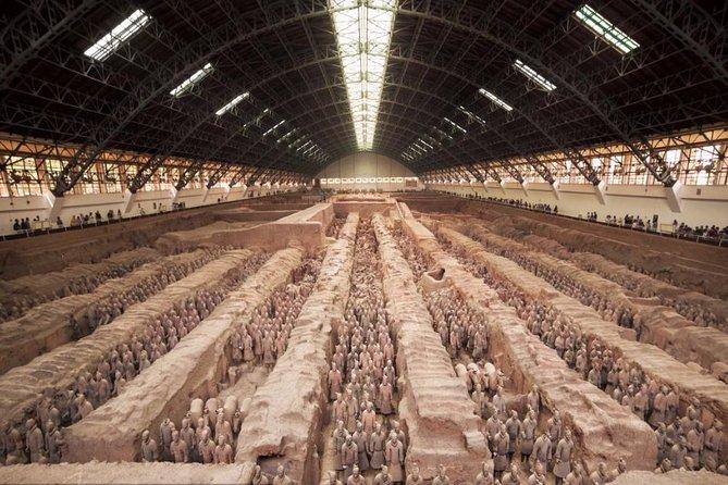 Xian Terracotta Warriors and Tang Dynasty Show Bus Tour