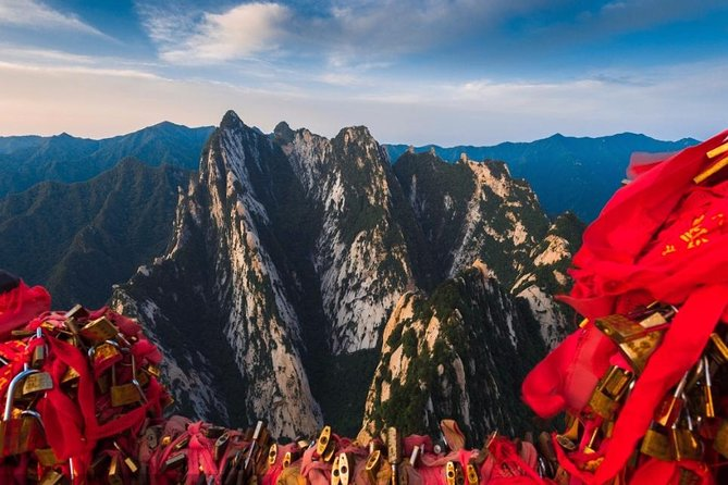 Private Day Tour to Mt Huashan from Xi'an by Bullet Train
