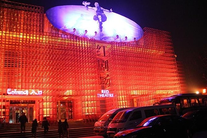 Beijing Evening Tour:KungFu Show In Red Theater Including Private Transfer