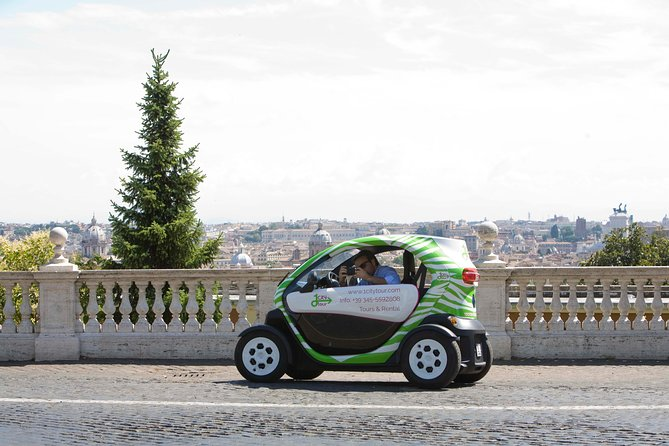 Rental for Electric Car for 24 hours in Rome