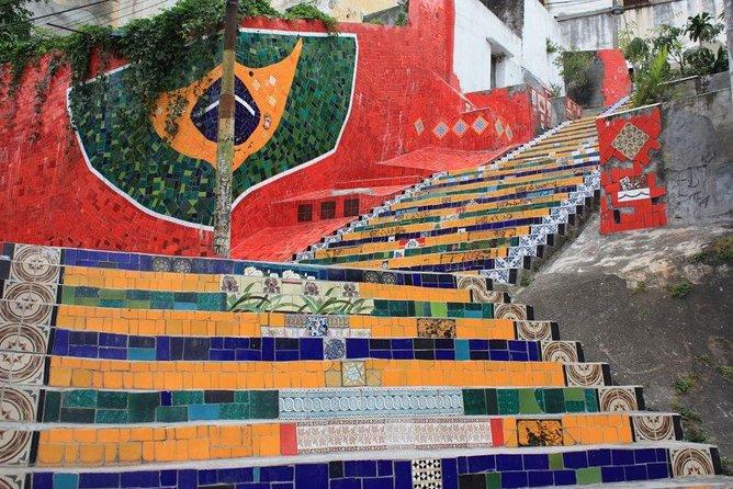 Rio de Janeiro Main Landmarks Tour Including Christ the Redeemer and Selaron Steps