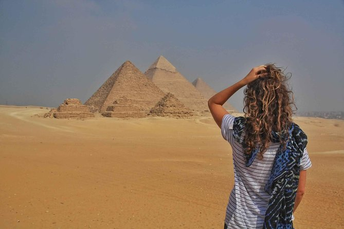 Half Day Tour Adventure for the Pyramids sphinx 45 Minutes camel Ride photo 17