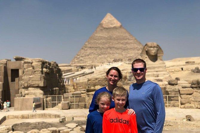 Customizable Full Day Tour to Giza Pyramids,Memphis,Sakkara,Dahsur,Solar boat