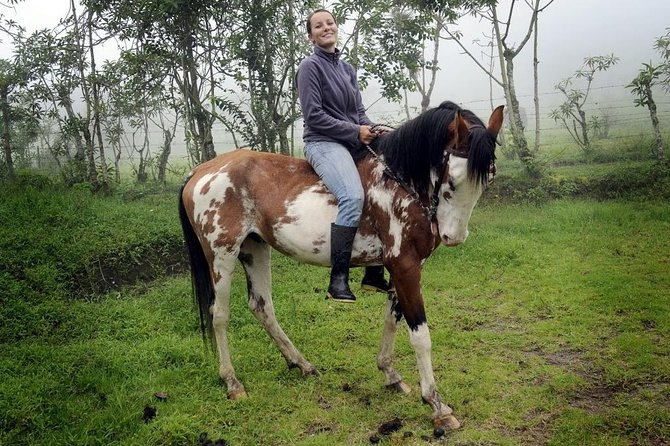 Private Mitad del Mundo Tour & 3 Hour Horseback Ride in Pululahua Crater photo 1