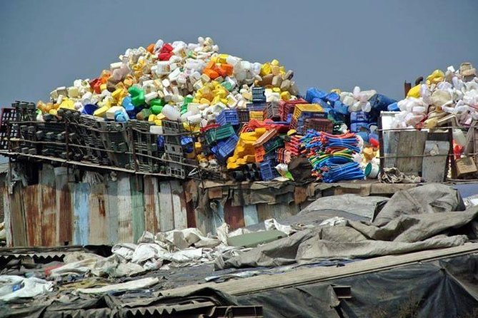 Passeio de favela Dharavi em Mumbai
