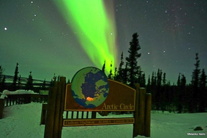 Northern Lights and Arctic Circle Day Trip from Fairbanks