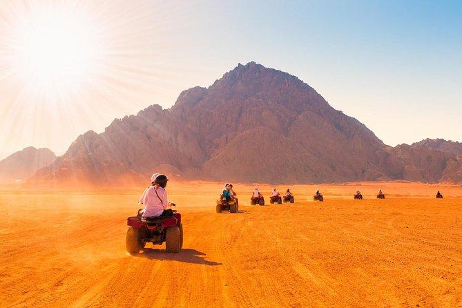3-Hour Desert Quad Bike in Hurghada Desert