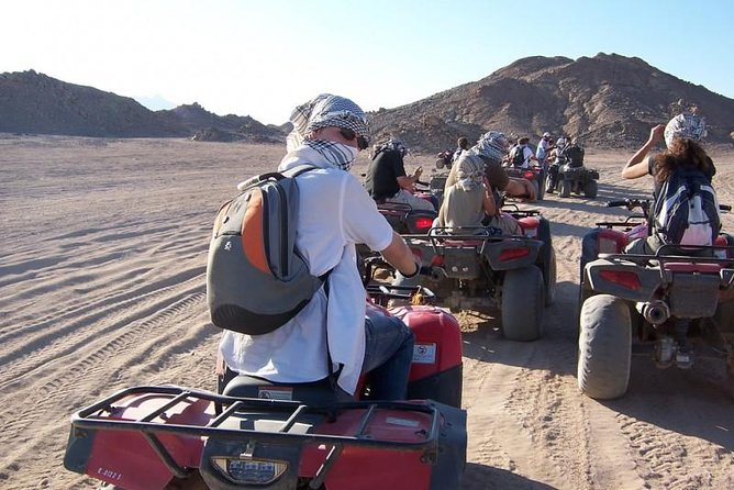 Enjoy sunrise and Quad Biking in the Egyptian Desert from Sharm el Sheikh