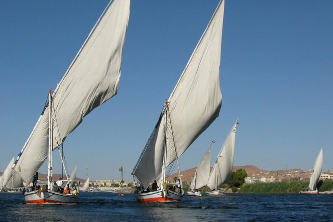 Nile Felucca Sailing and Kings Valley and Hatshebsoute Temple