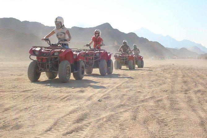 Sharm Trips: Sunset Quad Biking