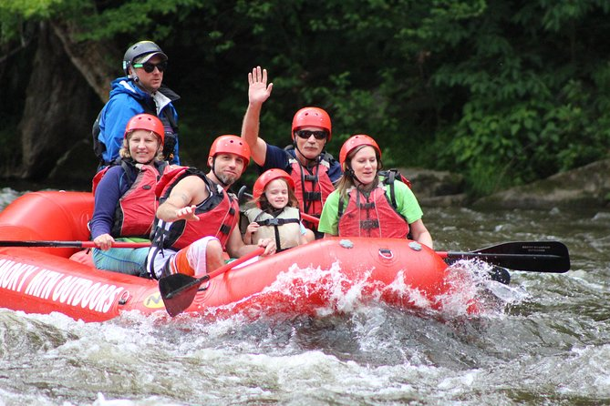 Lower Pigeon Rafting Trip