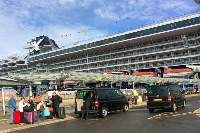 Port Arrival or Departure Transfer London and Southampton