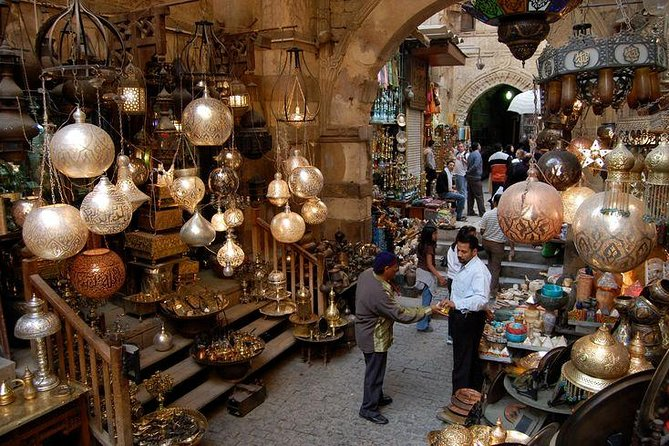 CAIRO DAY TOUR TO EGYPTIAN MUSEUM CITADEL and KHAN KHALILI BAZAAR photo 2