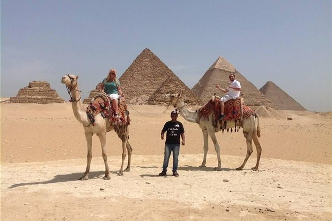 Full DAY TOUR TO GIZA PYRAMIDS WITH CAMEL RIDE AND EGYPTIAN MUSEUM IN CAIRO