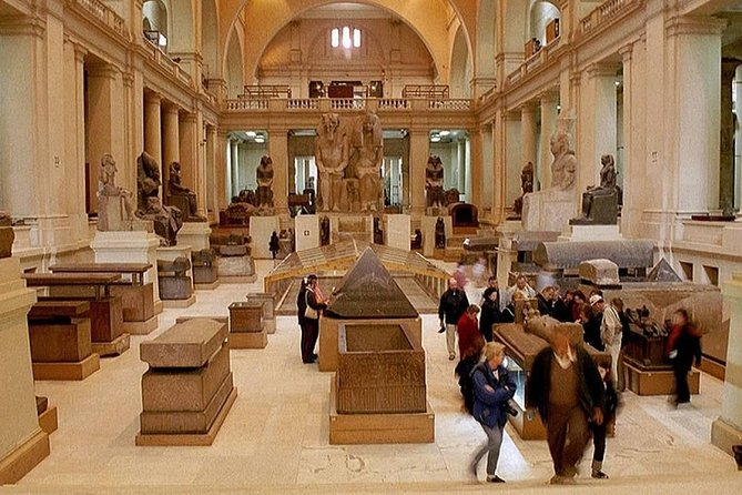 Guided Half Day Tour to Egyptian Museum in Cairo