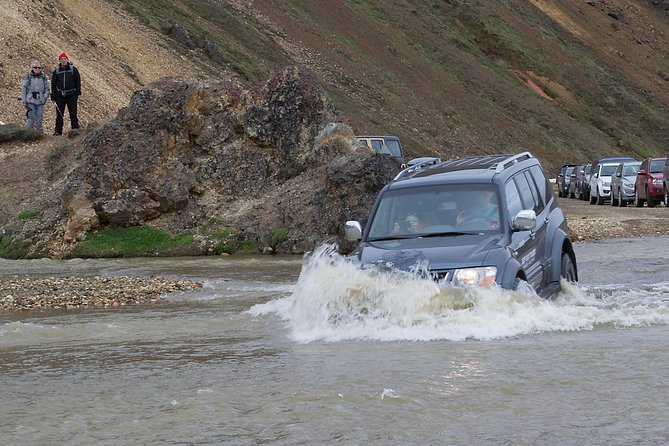 Full-Day Jeep Tour to Landmannalaugar from Selfoss