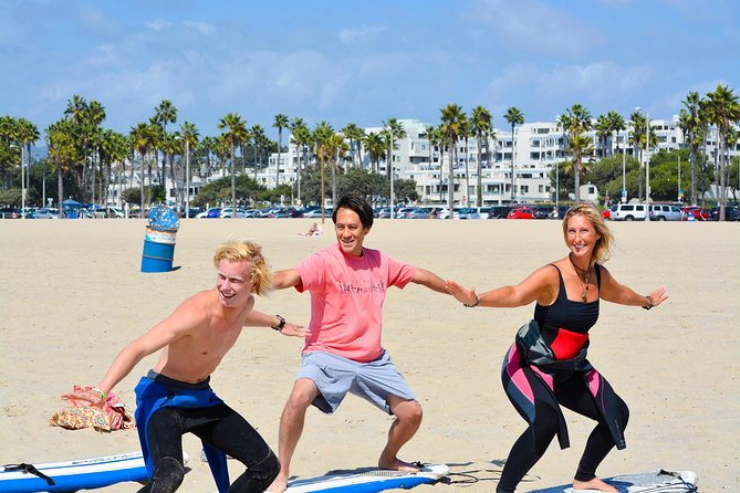Aulas de surfe em Venice Beach (equipamentos incluídos)