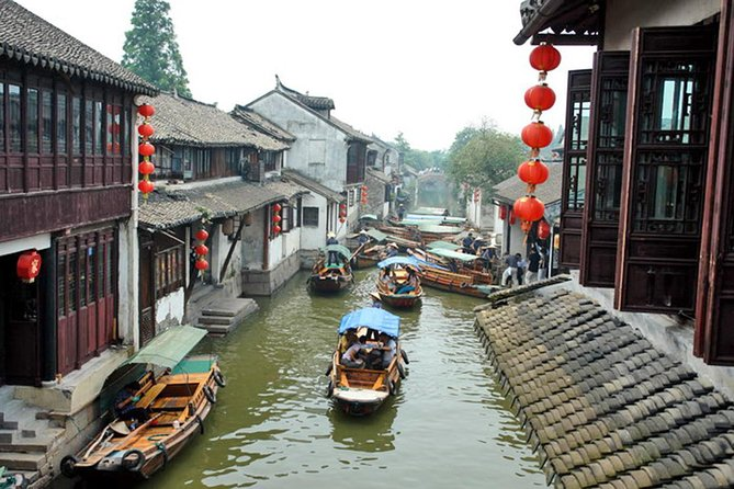 Suzhou and Zhouzhuang Water Village Private Day Trip from Shanghai