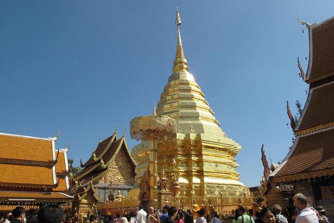 Half-Day Small-Group Doi Suthep Temple and Hmong Village Tour