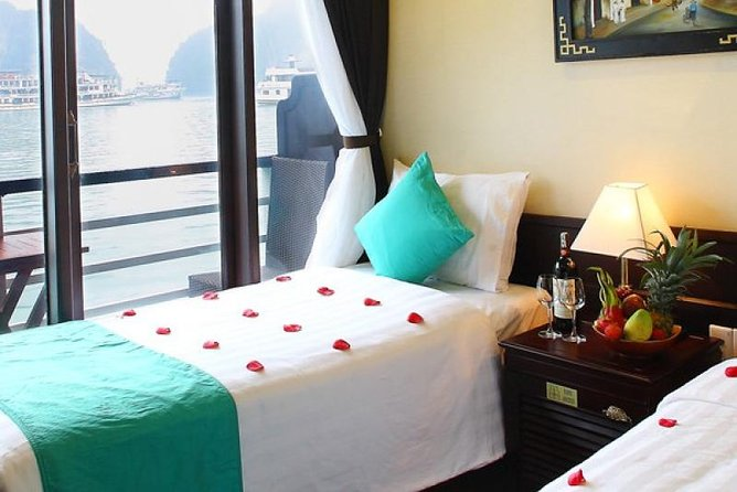Autentisk 3 Days Cruises Halong Bay på Glory Legend Cruises