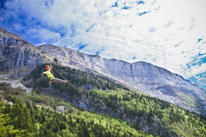 Zipline in Slovenia