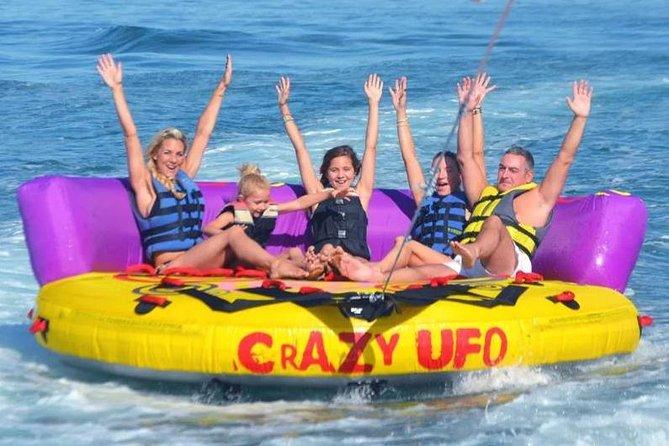 Paseo en bote loco en UFO desde Vilamoura