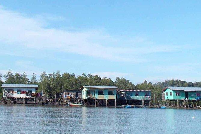 Gayang Trails Fishing Village Crab Catching and Batik Painting from Kota Kinabalu