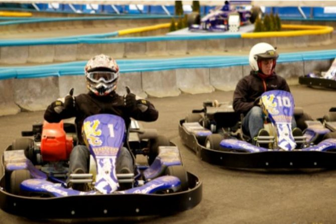 Indoor Go-Kart Experience in Horni Pocernice from Prague photo 1