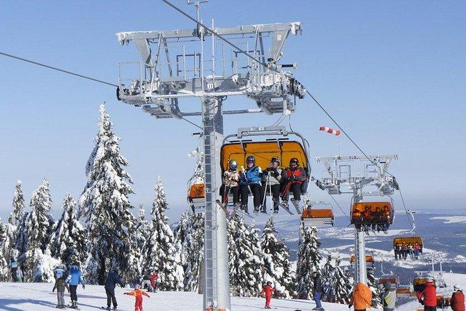 Full-Day Skiing on Klínovec Tour from Prague