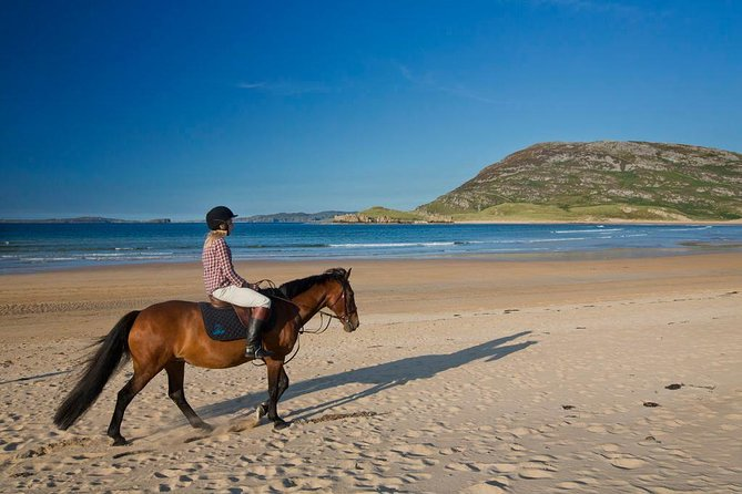 Shore Excursions: Private guided beach horse riding, Connemara