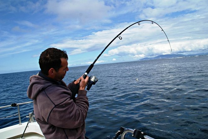 Deep sea angling / fishing on Connemara coast. Guided Full-Day