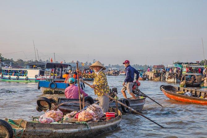 CAI RANG floating market, BEN DUOC tunnels, Real SAIGON - 3 days tours