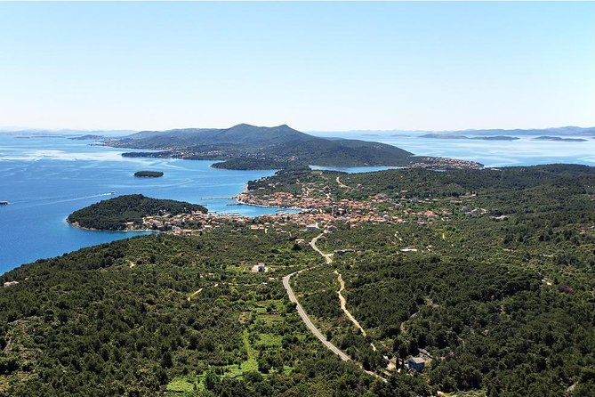 Excursão de bicicleta auto-guiada Ilha Ugljan