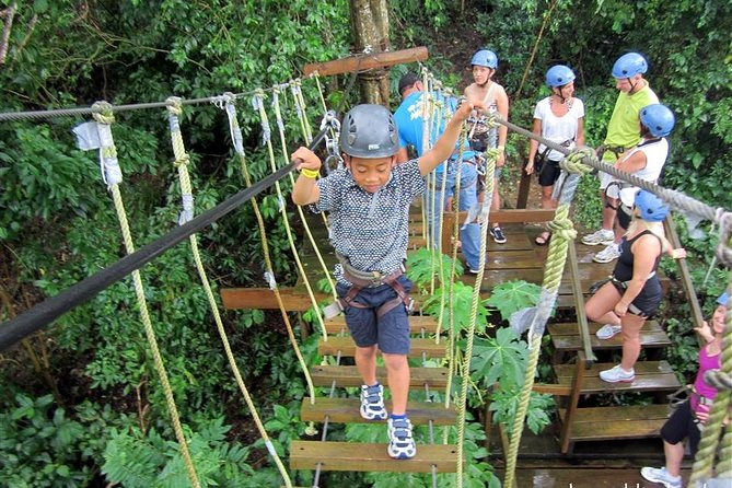 Roatan Ziplines sloth park and west bay Beach break