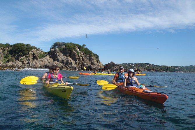 Calanques National Park Kayak Tour