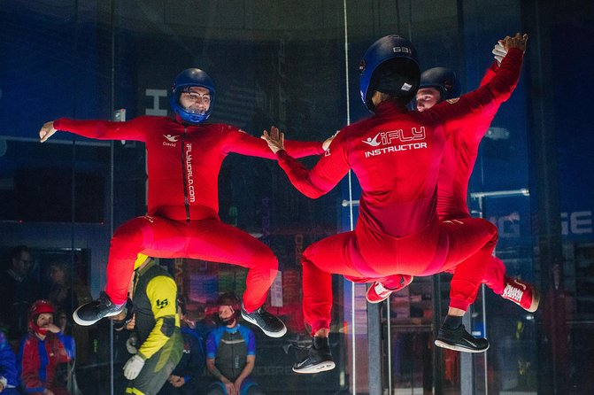 Chicago-Lincoln Park Indoor Skydiving with 2 Flights & Personalized Certificate