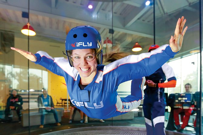 San Francisco Indoor Skydiving with 2 Flights & Personalized Certificate
