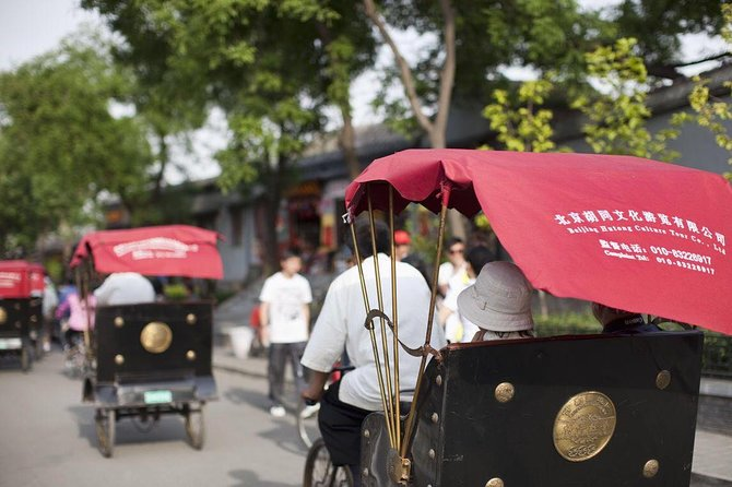 Private Beijing Tour: Mutianyu Great Wall, Drum Tower, Hutong with Rickshaw Ride