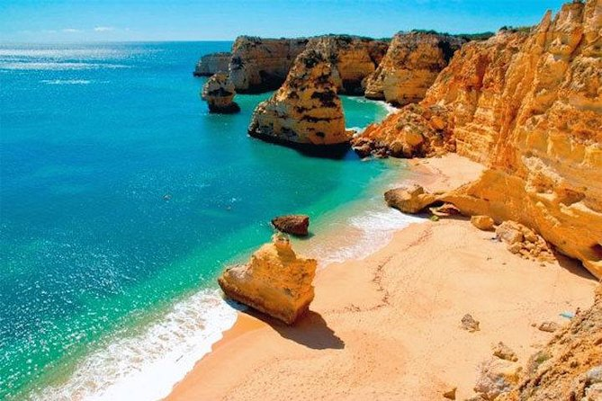 Half-Day Algarve Private Tour by Convertible from Portimão