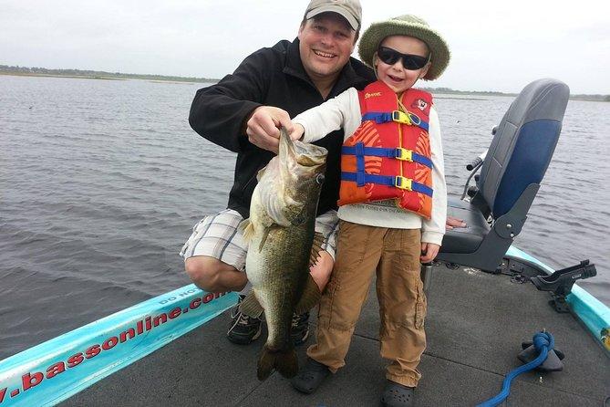 Cartas de pesca de Orlando na cadeia de lagos Butler na Flórida