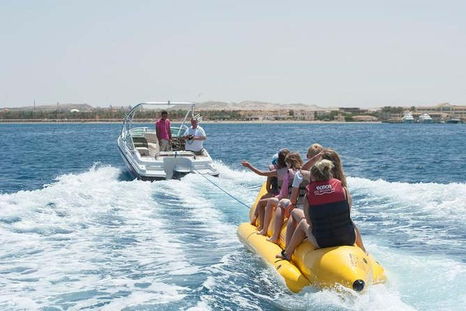 Hurghada Dolphin House and Banana Boat Fun with Snorkeling Time with Lunch Inc photo 5