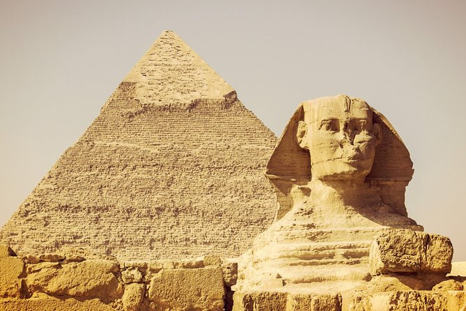 Discover Pyramids of Giza, Camel Riding, Saqqara, Memphis and Dahshur with Lunch photo 1