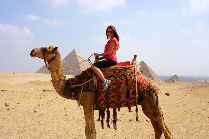 Discover Pyramids of Giza, Camel Riding, Saqqara, Memphis and Dahshur with Lunch photo 3