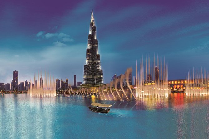 Dubai City Tour From Abu Dhabi-Dubai Museum & Gold Souk & Water Taxi and More