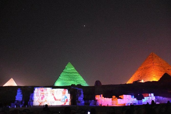 Pyramids Sound and Light Show in Giza with Transfer photo 2