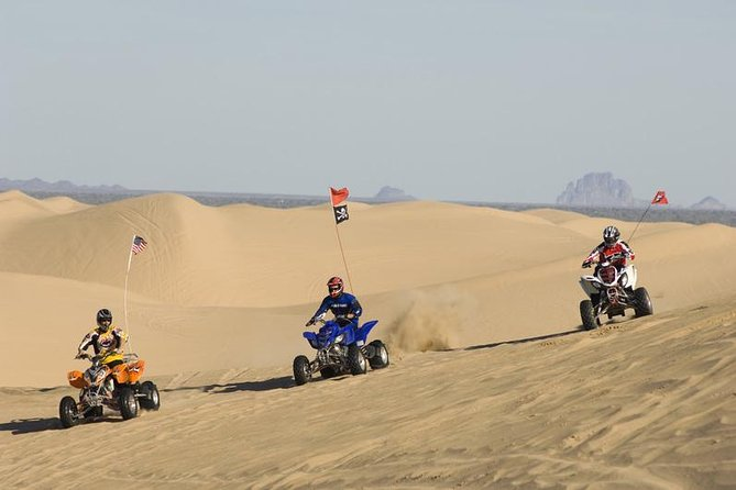 Abu Dhabi Quad Bike Desert Safari with 4W Dune Bashing & Off Road Adventure
