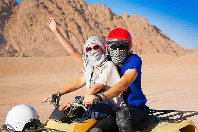 Hurghada 4WD Bedouin Safari with Quad Biking, Camel Ride, BBQ 2021