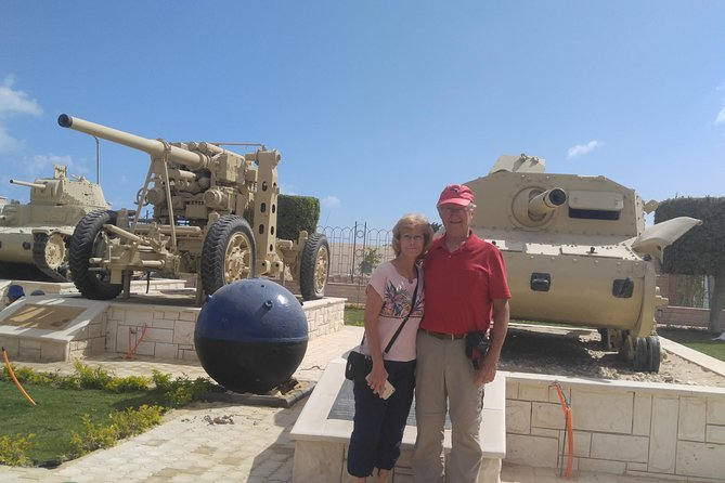 El Alamein day tour in Egypt with private guide and private transportation