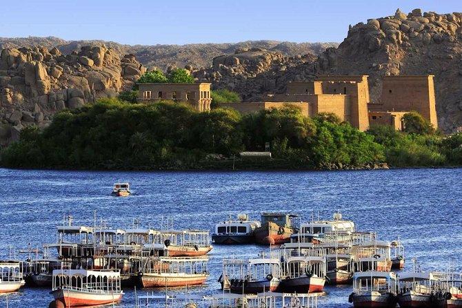 Aswan Private Full Day Philae Temple, Aswan Dam & Obelisk Lunch & Guide Inc
